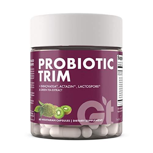 Genesis Today Probiotic Trim Weight Management Supplement, Digestive Health & Weight Management Support, 60 Vegetarian Capsules