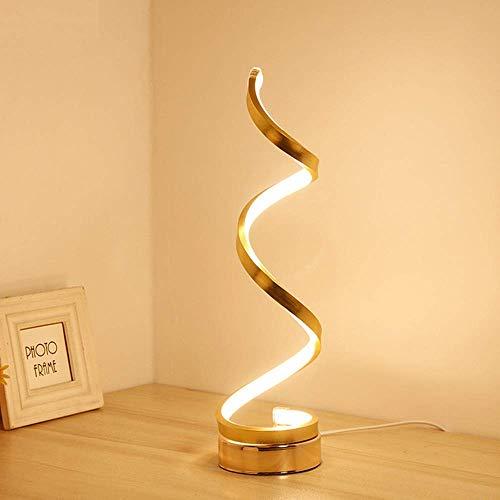 Lámpara de mesa con máscara de ojo de la mesa Lámpara de mesa de protección, luz de escritorio de oro, lámpara de noche del hotel, lámpara de mesa decorativa del regalo de la habitación (D12 * H45CM)