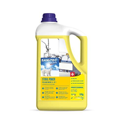 ITALCHIMICA SRL Detergente Lavastoviglie Detersivo Sanitec Stovil Power 6kg Piatti Stoviglie