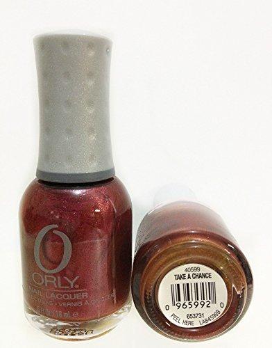 Con mensaje en inglés con texto en Orly para esmalte de uñas a base de diseño de joyas Or40599 de mujer con correa Orly