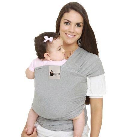 Porte-bébé douillet et joli de haut de gamme / Lance-Idéal Wrap-Supersoft coton Spandex Mix- ajustement confortable et bien a l'aise. Convient pour les nouveau-nés aux tout-petits jusqu'à 30lbs
