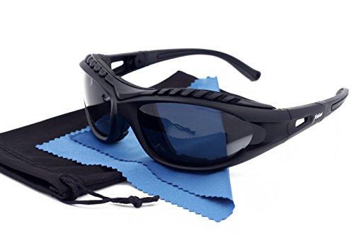 Xtreme, occhiali da sole polarizzati con imbottitura in schiuma, unisex, per kayak, canoa, snowboard, ciclismo, sci, guida, bicicletta