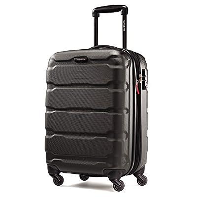 Samsonite Omni PC Hardside Luggage, Black, Carry-On