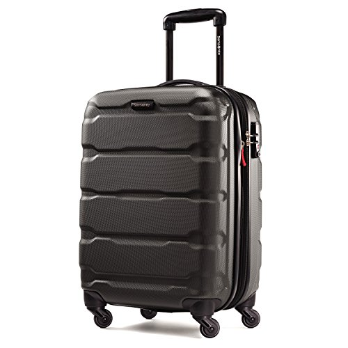 Samsonite Omni PC Hardside Luggage, Black, Carry-On