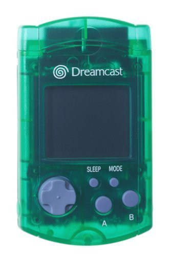 Dreamcast - Carte Memoire Officielle SEGA Crystal Green