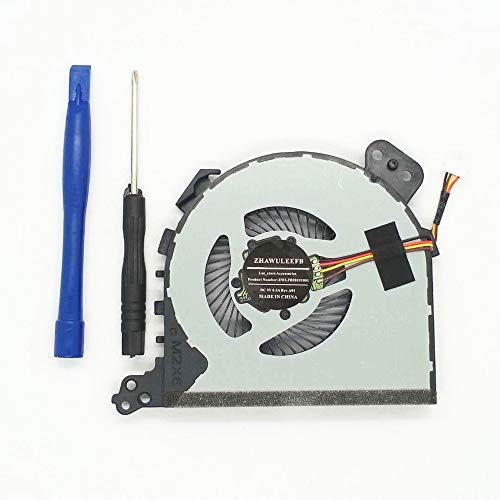 Lee_store Replacement New CPU Cooling Fan for Lenovo Ideapad 320-15isk 320-15ikb 320-15ast 320-14IKB 320-14ABR 320-14ISK 320-15ABR 320-15IAP 320-17IKB 320-17ISK Series DFS541105FC0T FJD5 Fan
