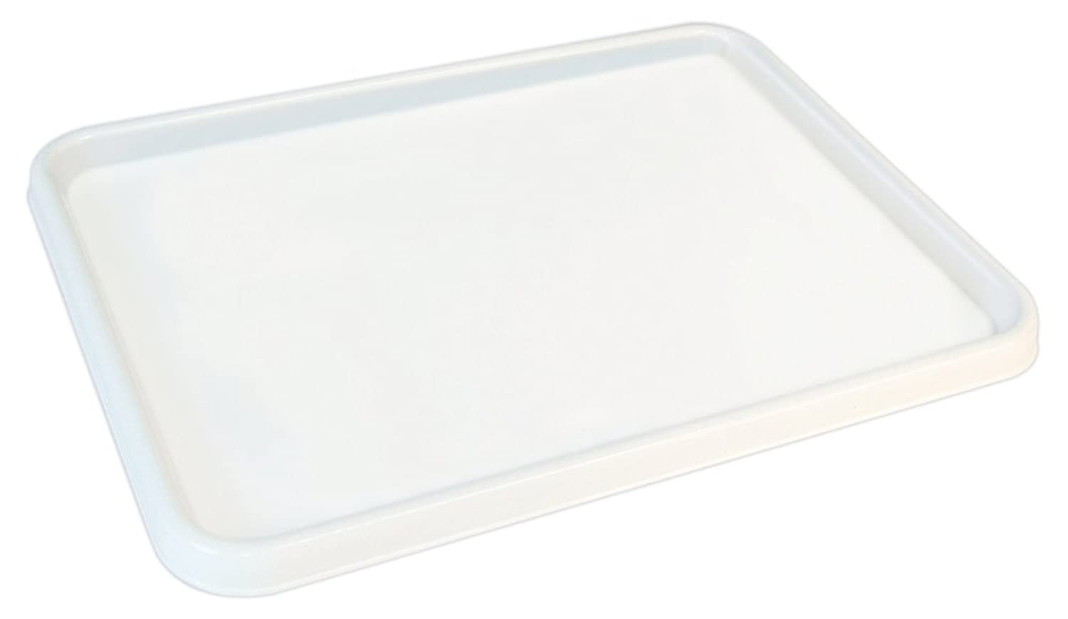 Sargent Art 22-9803 Large Flat Palette, White, 9-3/4-Inch by 13-Inch