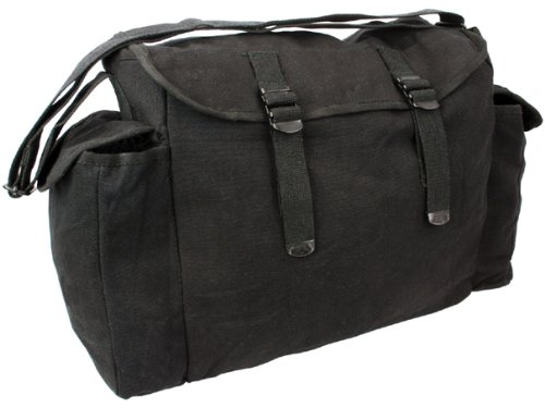 Mens Army Combat Military Haversack Shoulder Canvas Man Travel Bag Surplus New