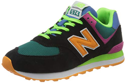 New Balance 574 ML574MA2 Medium, Zapatillas Hombre, Black (Black MA2), 42 EU