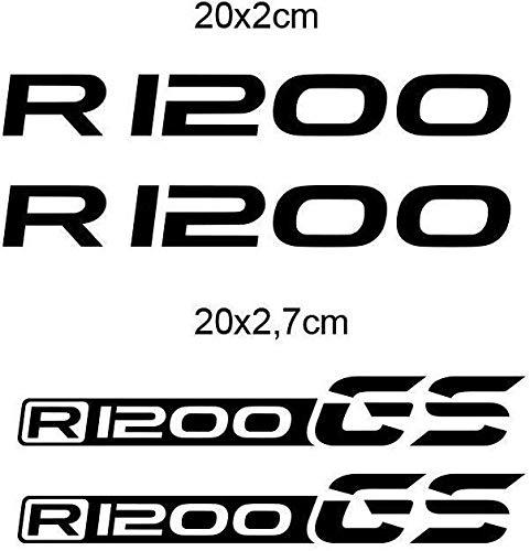 KIT ADESIVI DECAL STICKERS R 1200 GS GP-049 (Black)