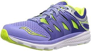 Saucony Girls' Zealot 2 Running Shoe Purple/Blue 12.5 Wide US Little Kid [並行輸入品]
