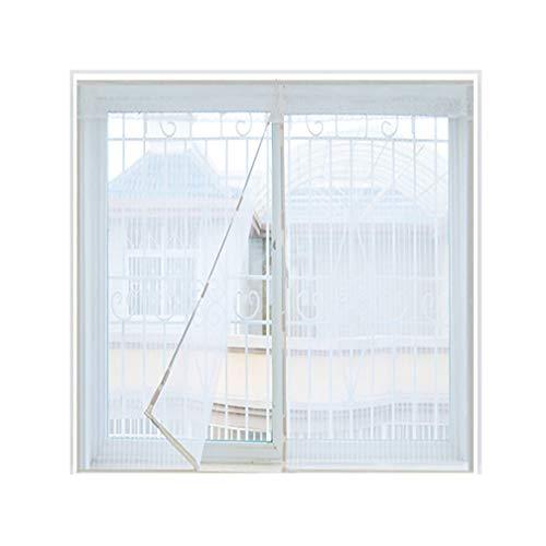ALSGON Fenster Moskitonetz,Fliegengitter Gewebe Filatec Einfache Montage Ohne Bohren Maschen Fest VerschweißT Schutz Gegen MüCken Hohe LuftdurchläSsigkeit WitterungsbestäNdig,80x100cm(31x39in)