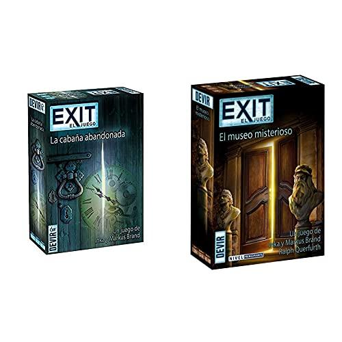 Devir Exit: La Cabaña Abandonada, Ed. Español (Bgexit1) + Exit 10, El Museo Misterioso, Multicolor (Bgexit10)