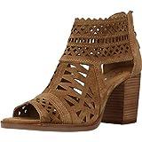 Sandalias de TAC�n Mujer, Color marr�n (Cuero),...