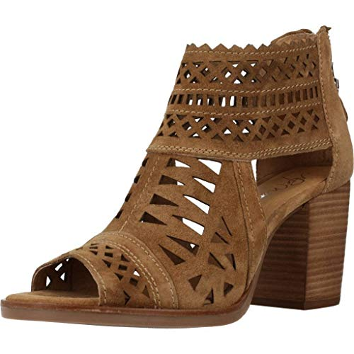 Sandalias de TAC�n Mujer, Color marr�n (Cuero), Marca ALPE, Modelo Sandalias De TAC�n Mujer ALPE 4612 11 Marr�n
