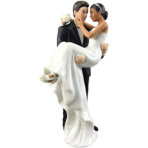 Wedding Collectibles Caucasian Groom Holding African...