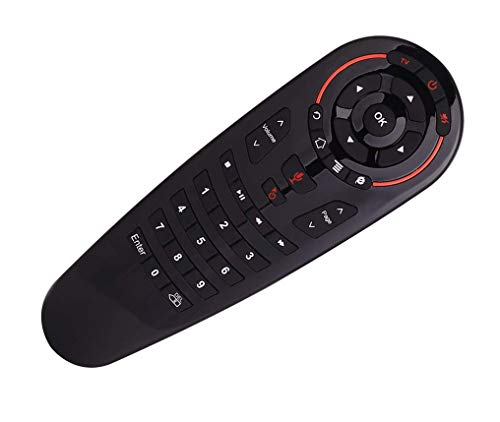 SccKcc 6 Axis Gyroscope Voice Remote Controller, G30s Remote Control with 33 Button IR