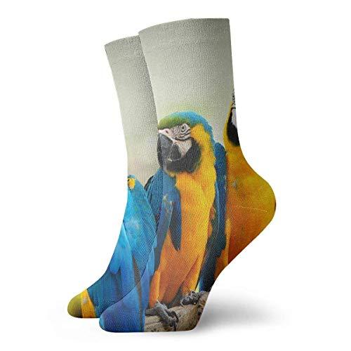 DLing Mocking Bird Animal Nature Rutschfeste Kompressionssocken Cosy Athletic 30cm Crew Socken für Männer, Frauen, Kinder