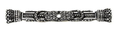 Carpe Diem Hardware 6140-9C  Crowning Glory  Queen Anne Large Escutcheon Made with Swarovski Crystals, Chalice