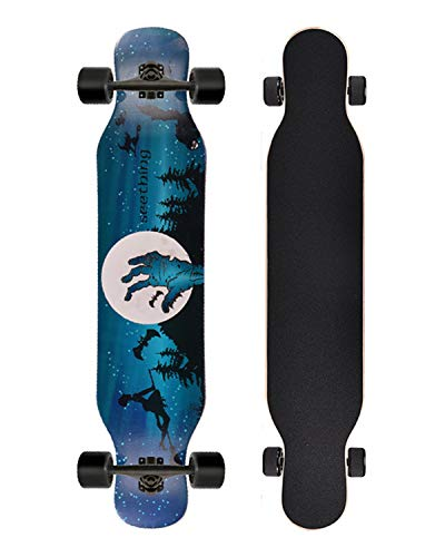 Grist CC Longboard Maple Skateboard für Kinder Erwachsene Jahre Freeride Race Long Distance Dancer Carving