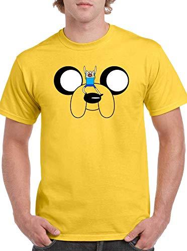 The Fan Tee Camiseta de Hombre Hora de Aventuras Jake Finn 011 L