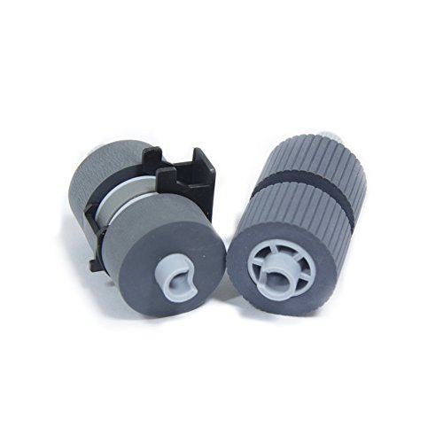 YANZEO PA03338-K011 Pick Roller Set of 2 Rollers for FI-5750C FI-6670 and FI-6770 5650C FI-5650C 5750 Scanners