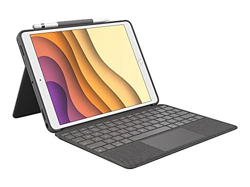 Logitech Combo Touch para iPad Air 3a generación y iPad Pro de 10.5 pulgadas,...