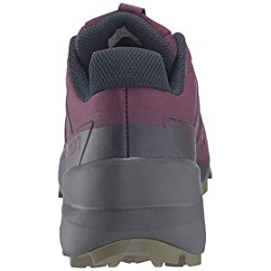 Salomon Women's Speedcross 5 Trail Running Shoes, Potent Purple/Ebony/Burnt Olive, 9.5