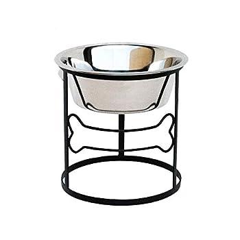 Bone Single Diner - Elevated Pet Bowl - 10  Tall