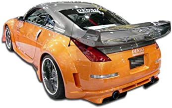 BRIGHTT-46106227 FRP (Fiberglass Reinforced Plastics) Vader 3 Style Rear Bumper - Compatible With/Replacement For 350Z 2003-2008 - 1 Piece