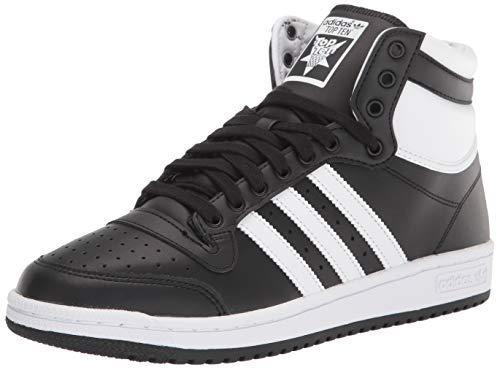 adidas Originals Men's Top Ten Sneaker, Black, 9
