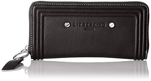 Liebeskind Berlin Damen Mzsallyh8 Vintag Geldbörse, Schwarz (Black), 2x9x19 cm