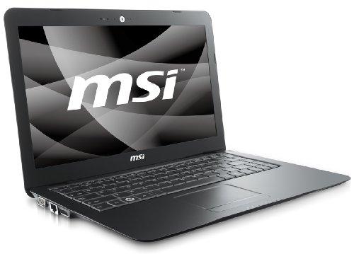MSI Megabook X340-SU3523VHP 34 cm (13,4 Zoll) WXGA Laptop (Intel Core 2 Solo SU3500 1,4GHz, 2GB RAM, 320GB HDD, Intel GMA 4500MHD, Vista Home Premium) schwarz