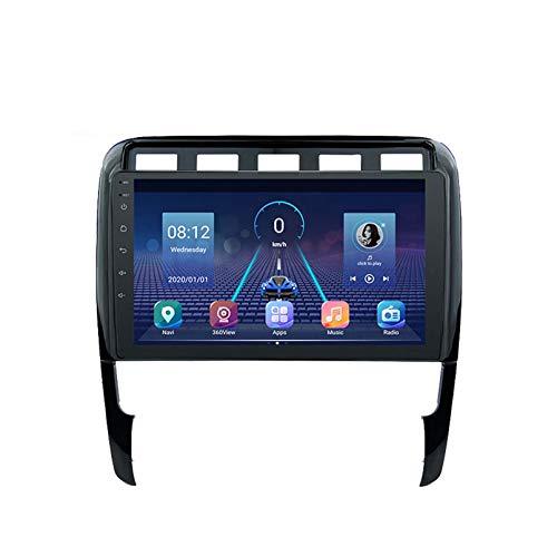 ZWDSDD para Porsche Cayenne 2002-2010 Autoradio Car Android 9.0 GPS DSP Multimedia Screen Navi Stereo Radio Tape Recorder Unidad De Cabeza(Color:WiFi:4+64G)