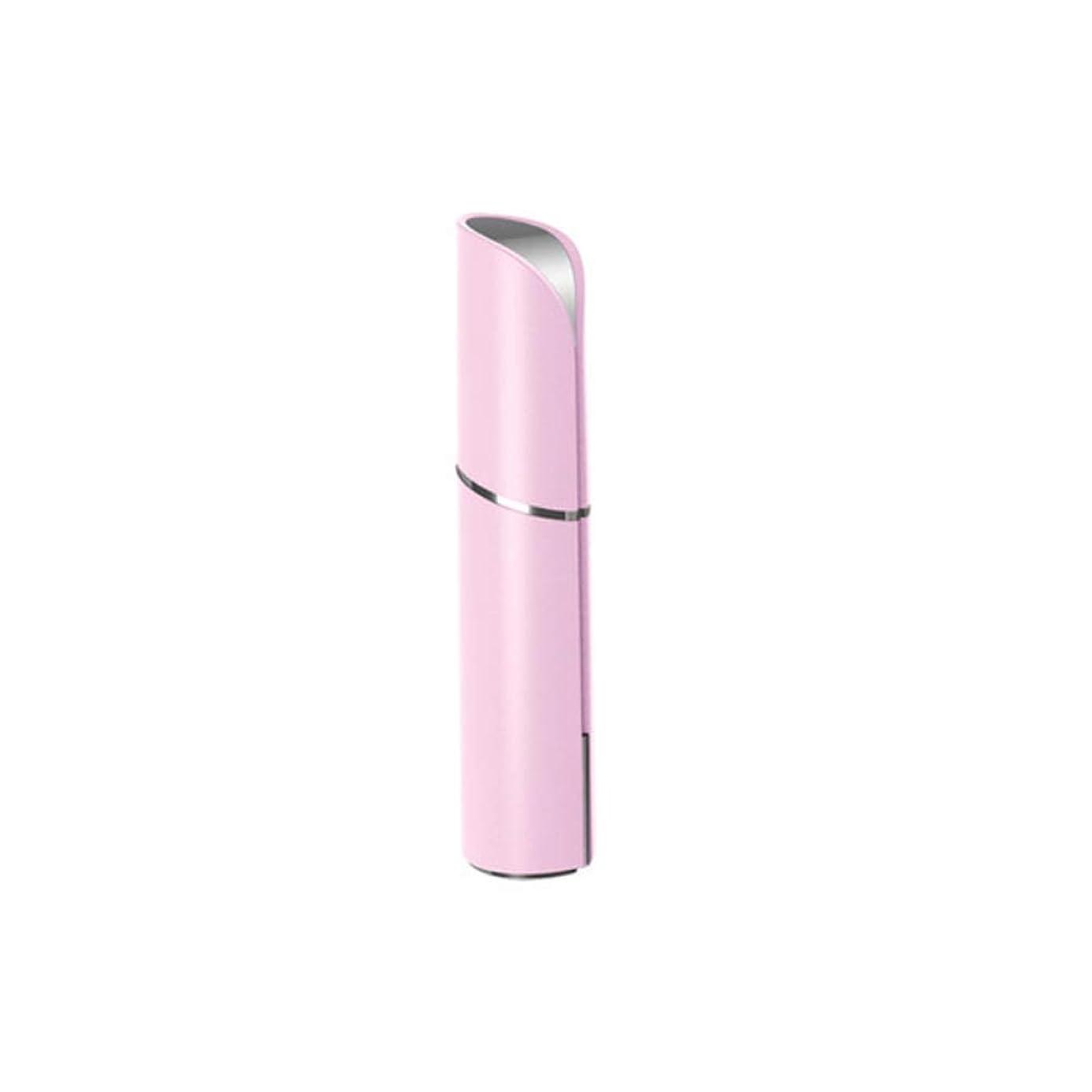 スカリー忠実な靄マッサージャー - 黒丸アンチリンクルアイバッグ美容機器アーティファクト女性に行く (色 : Pink)