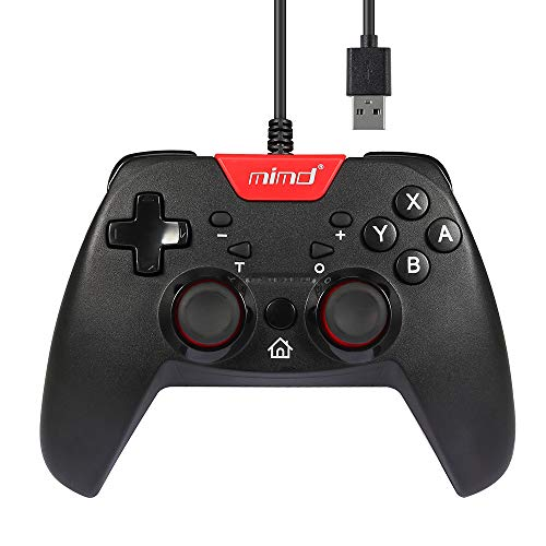 Wired Gaming Controller for Nintendo Switch, Dotca RN10 Wired Gamepad Replacement for PC/Nintendo Switch, Best PC USB Gamepad for Nintendo Switch(Third Party Product)