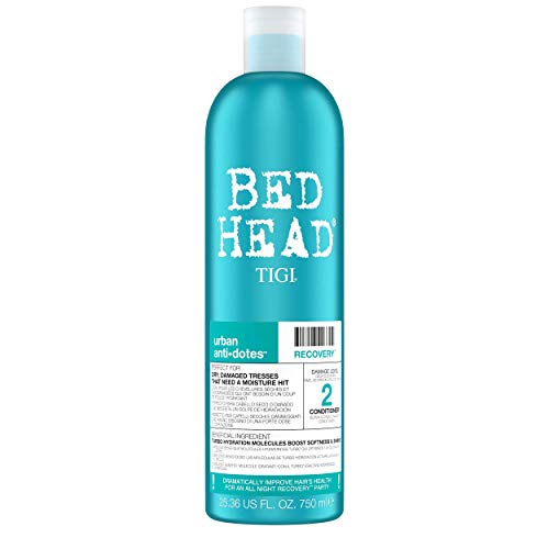 Bed Head by Tigi Urban Antidotes Recovery Moisture Shampoo and Conditioner, 750 ml, Pack of 2