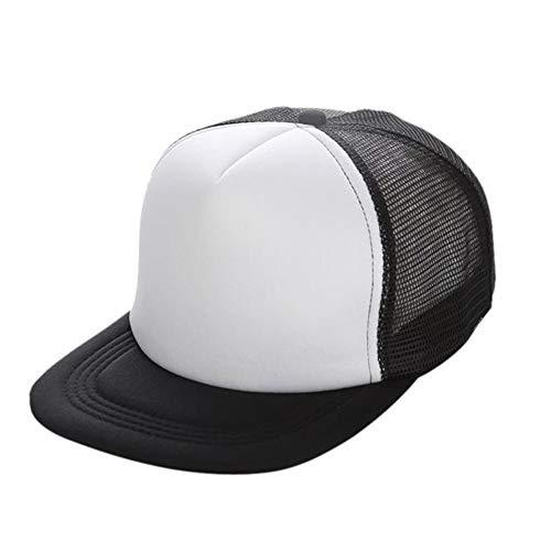 XUETON Unisex Baseball Cap Dad Trucker Hat Baseball Cap Perfect for Running Workouts and Outdoor Activities (Black)