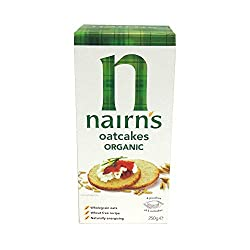 Nairns Organic Oatcakes 250 g (Pack of 6) Nairns Organic Oatcakes 250 g (Pack of 6) Nairns Organic Oatcakes 250 g (Pack of 6)