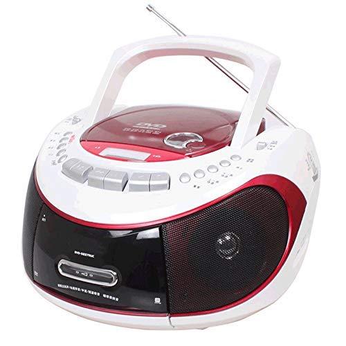 AWJ Apagado Reproductor de MP3 Altavoz de Audio Reproductor de DVD portátil Reproductor de CD USB Grabadora de Cassettes de Radio Grabadora de Cinta Máquina prenatal Artículo electrónico