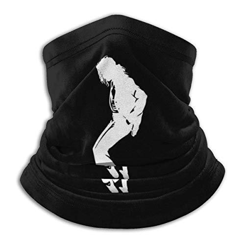 AmyNovelty Magic Headband,Mich-Ael Jack-Son Magic Headbands, Pasamontañas De Cuello Multiusos para Esquí Atlético,26x30cm
