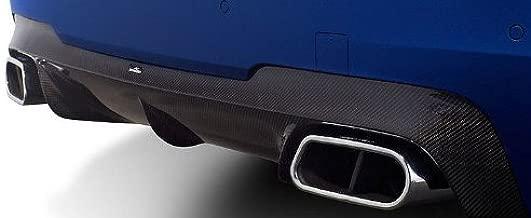 BMW F10 M5 Genuine AC Schnitzer Brand OEM Carbon Fiber Diffuser With Clear Coat