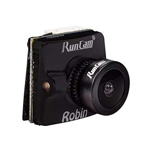 RONSHIN RunCam Robin 700TVL 1.8 / 2.1mm FOV 160/145 Grado 4: 3 Cámara NTSC y PAL CMOS FPV conmutable Negro 2.1mm