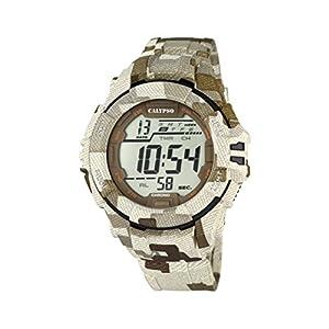 Calypso Watches Reloj Digital para Hombre de Cuarzo con Correa en Caucho