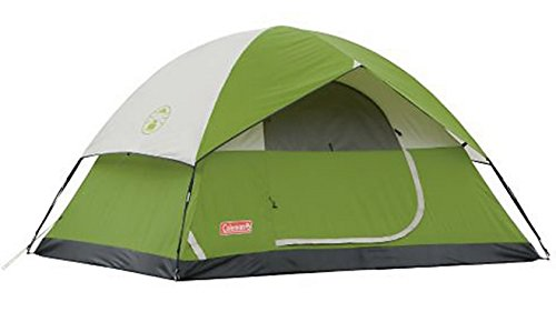Coleman SunDome 4 Person Dome Tent (Green)
