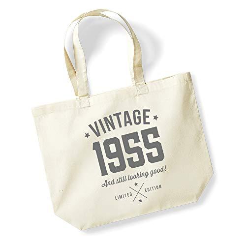 49th Birthday Gift Tote Shopping Cotton Fun Bag Vintage 1970 All Original Parts