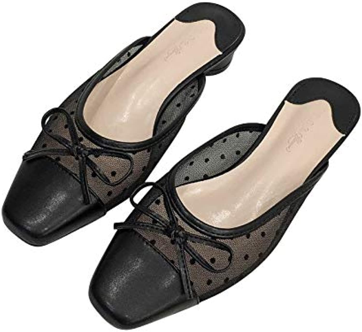 Super explosion Women's Backless Lazy Loafers Flats Slip On Mules shoes Walking Slipper