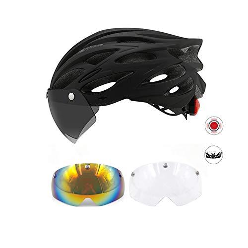 Fahrradhelm Yuan Ou Fahrrad mit einteiligem Mountainbike-Rennradhelm Breathable...