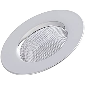 2pcs 2.1 Inch Sink Strainer Drainer Cover Stopper Stainless Steel for Kitchen Basin Bath Filter Mesh Sink Strainer