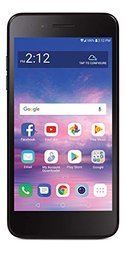 top rated LG Rebel 4 4G LTE Smartphone with Prepaid Carrier Binding Tracfone – Black – 16 GB – SIM Card Included –… 2020